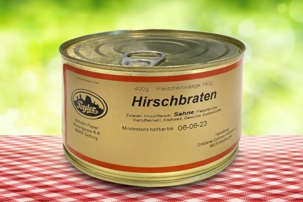 Hirschbraten