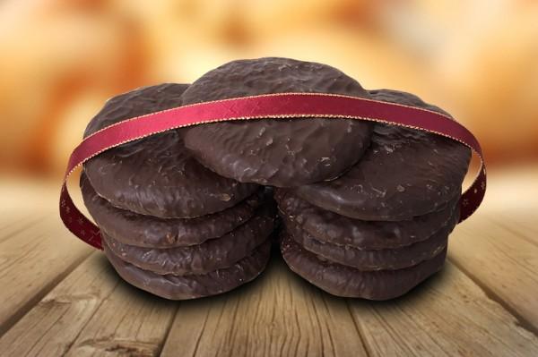Feinste Elisenlebkuchen mit Schokolade