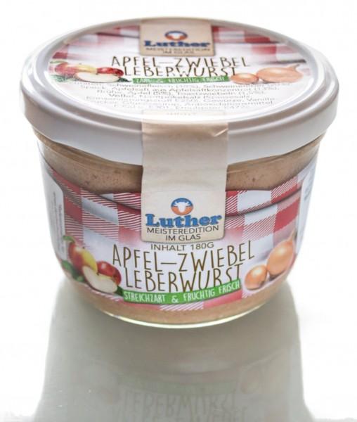 Apfel-Zwiebel-Leberwurst 180g Glas