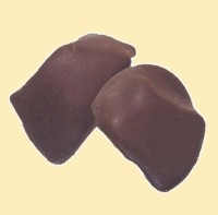 Ingwerwürfel in Zartbitterschokolade