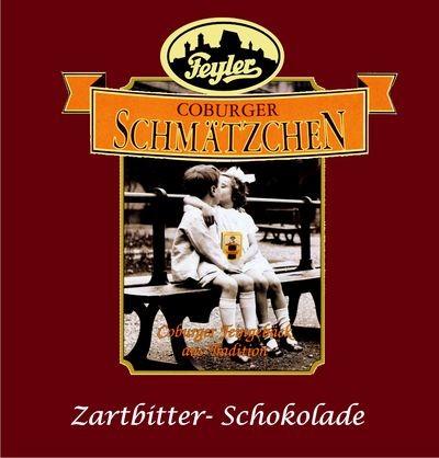 Schmätzchen-Schokolade Zartbitter