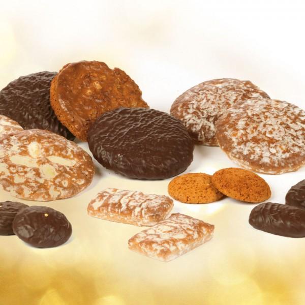 Meisterlebkuchen mit Schokolade
