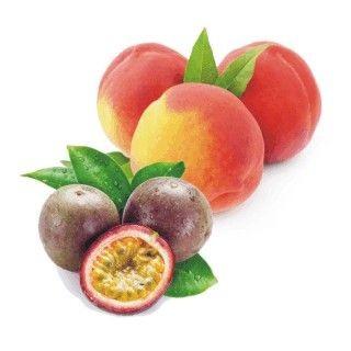 Maracucja-Pfirsich Fruchtaufstrich mit Zitronengras
