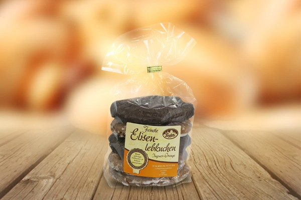 Elisenlebkuchen Ingwer Orange