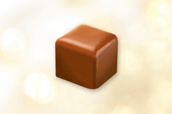 Lebkuchenwürfel mit Vollmilchschokolade