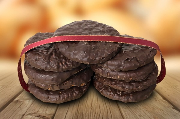 500g Feyler Haselnusslebkuchen mit Schokolade