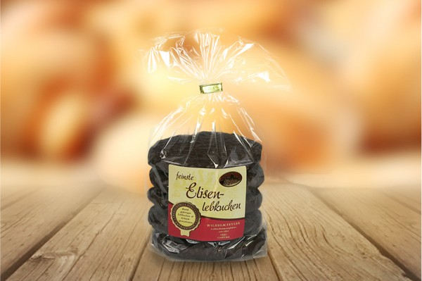 Elisenlebkuchen mit Schokolade