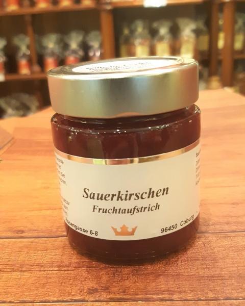 Sauerkirsch-Fruchtaufstrich