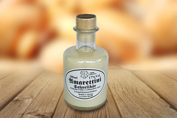 Amarettini Sahne Likör 200ml