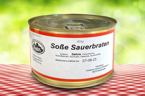 Sauerbraten Soße