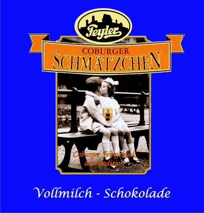 Schmätzchen-Schokolade Vollmilch